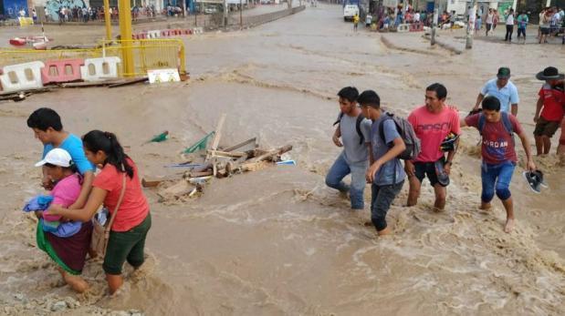 Desactivan alerta roja tras caída de huaico en Santa Eulalia