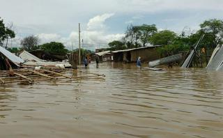 Piura: lluvias hacen colapsar 150 viviendas en Chulucanas
