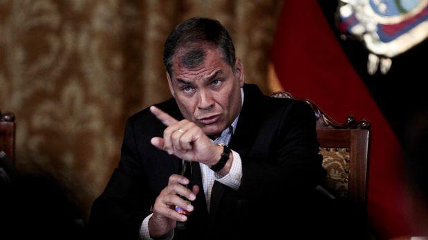 """Correa afirma que Brasil """"claudicó"""" a los pedidos de Odebrecht"""