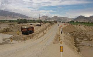 Áncash: reabren paso provisional en el puente Huambacho