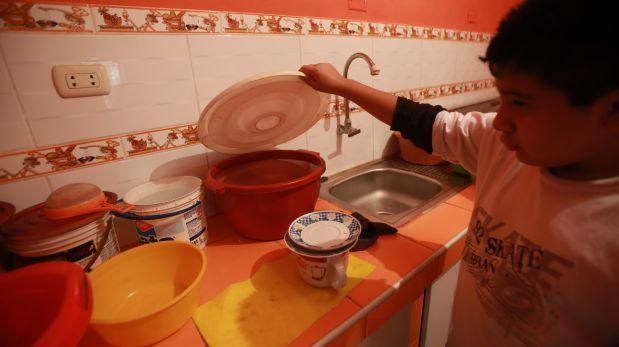 Sedapal: En diversos distritos reclaman que aún no tienen agua