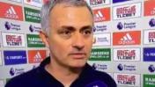 José Mourinho respondió a un periodista nombrando el abecedario