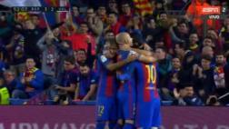 Barcelona: Messi anotó tras potente remate de derecha [VIDEO]
