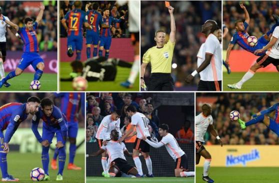 Barcelona venció 4-2 a Valencia: postales del holgado triunfo