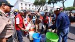 Congreso fue punto de repartición gratuita de agua potable - Noticias de simon rodriguez