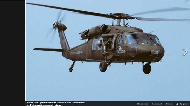 Colombia envía dos helicópteros a Piura para apoyo humanitario