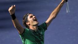 ¡Roger Federer campeón de Indian Wells! Venció a Stan Wawrinka
