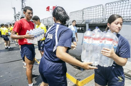 Dos embarcaciones más parten al norte con ayuda humanitaria