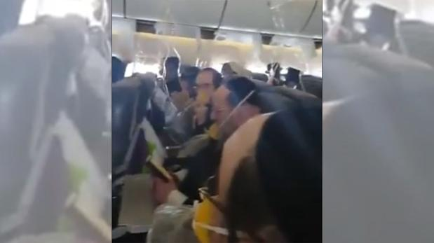 El dramático rezo en medio de una emergencia aérea