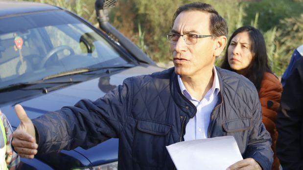 Vizcarra: 47% está de acuerdo con interpelación al ministro