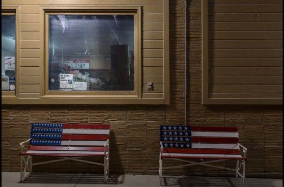 Un viaje nocturno por los pequeños pueblos de Estados Unidos