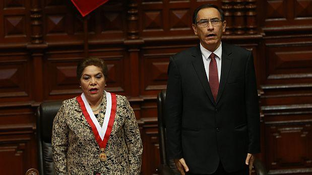 """Salgado: """"Interpelación a Vizcarra debe realizarse el jueves"""""""