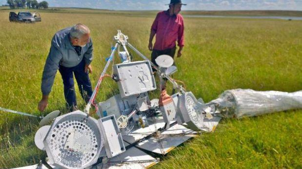 Otro globo de Google se precipita a tierra en Uruguay