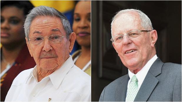 Lluvias en el Perú: Raúl Castro expresó sus condolencias a PPK