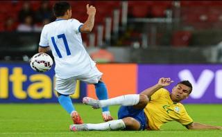 """Casemiro: """"Es mejor jugar ante Uruguay sin Luis Suárez"""""""