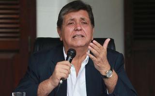 """Alan García: """"Lima sin agua es un absurdo"""""""