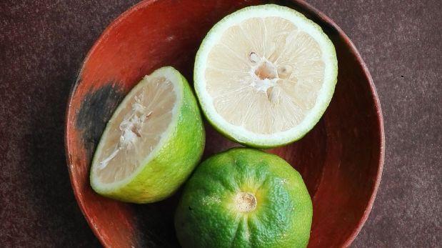 El limón rugoso (cidra) es también una alternativa amazónica al limón.