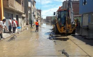 Lambayeque: empieza la rehabilitación de las calles de Chiclayo