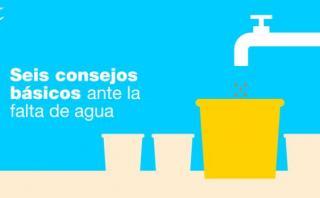 Falta de agua: seis consejos para cuidar este valioso recurso