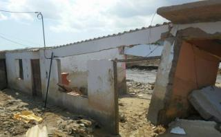 Áncash: huaicos dejan en escombros el centro poblado Cascajal