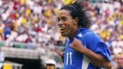 Ronaldinho: el inolvidable golazo que anotó en el Mundial 2002