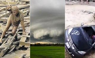 Las impactantes imágenes de las lluvias e inundaciones en Perú
