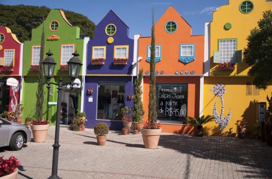 Este colorido pueblo brasileño te transportará a Holanda