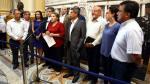 ¿Qué hacen los congresistas ante la emergencia de los huaicos? - Noticias de luis benavente