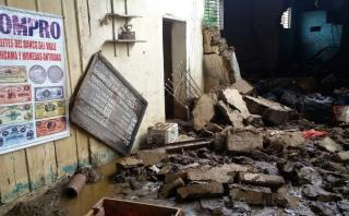 Indeci: número de fallecidos por lluvias aumenta a 78