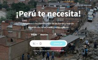 Cómo ayudar: Esta web te permite donar con cualquier tarjeta
