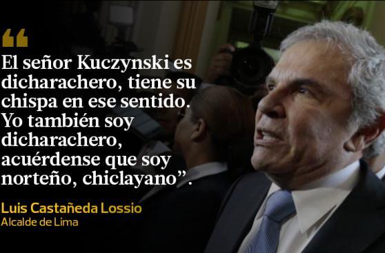 Las polémicas frases de Castañeda a PPK tras caída de puente