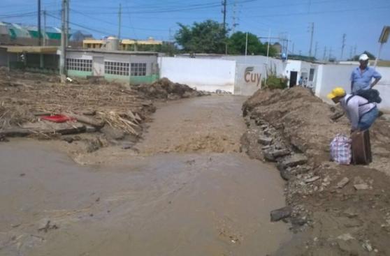 Así sobrevive Huarmey a la caída de lluvias intensas y huaicos