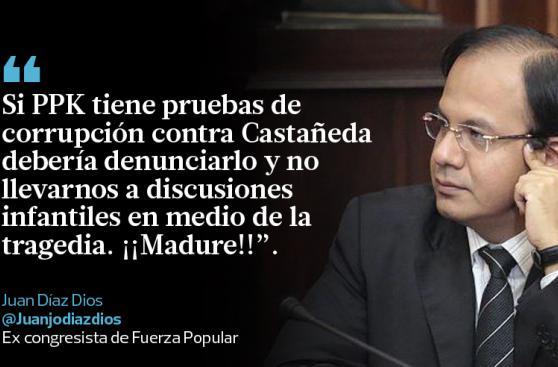 Impasse entre Castañeda y PPK en los tuits destacados del día