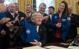 Trump incrementa presupuesto de la NASA para que explore Marte