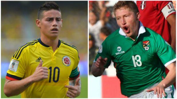 James y Colombia vencen por 1-0 a Bolivia en casa