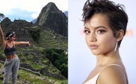 """Transformers"": actriz de origen peruano visita Machu Picchu"
