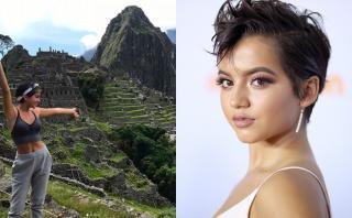 Transformers: actriz de origen peruano se luce en Machu Picchu