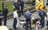 Londres: Los momentos de caos al exterior del Parlamento