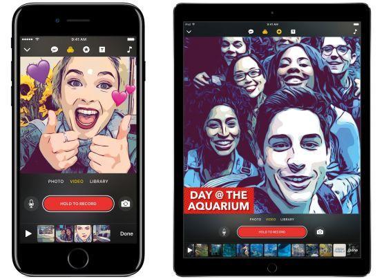 Apple lanzó aplicación de video para competir con Facebook
