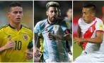 Eliminatorias Rusia 2018: 10 jugadores a seguir en fecha doble