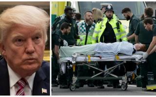 """Trump condena el atentado en Londres y ofrece su """"total apoyo"""""""