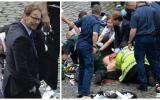 """El parlamentario """"héroe"""" que trató de salvar la vida al policía"""
