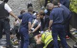 Ellwood, de 50 años, se encontraba dentro del Parlamento en el momento del atentado y salió para practicarle ejercicios de reanimación al policía herido que finalmente falleció. (Foto: Stefan Rousseau/vía AP)