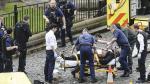 Londres: Los momentos de caos al exterior del Parlamento - Noticias de heridos