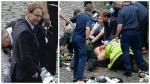 """El parlamentario """"héroe"""" que trató de salvar la vida al policía - Noticias de heridos"""