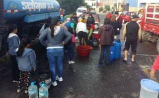 Escasez de agua potable afecta a la población de Arequipa
