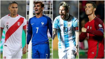 Los 10 duelos que no te puedes perder en esta doble fecha FIFA