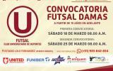 Universitario quiere hacerse fuerte en el futsal femenino