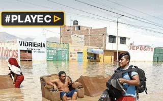 La emergencia persiste en Áncash y La Libertad