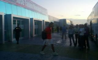 Selecciónllegó a Maturín después de un vuelo con turbulencias